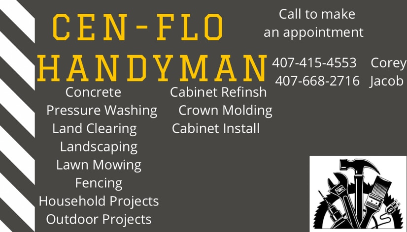 Cen- flo handyman llc logo