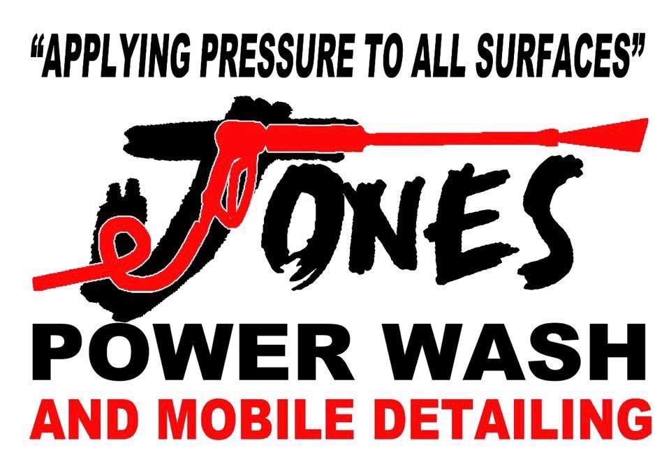 Jones Power Wash and Mobile Detailing  logo