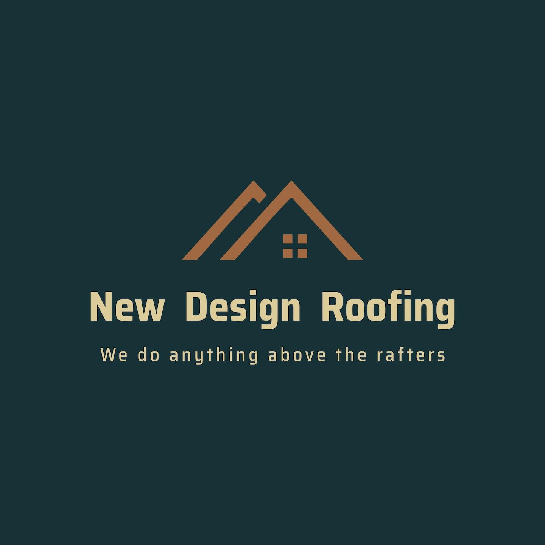 New Design Roofing logo