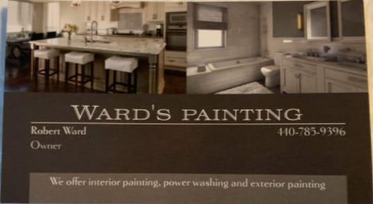 Wards Painting logo