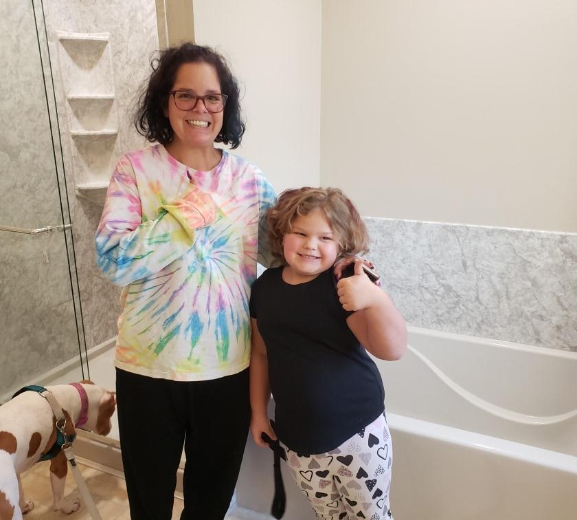 Happy Bathroom Customers