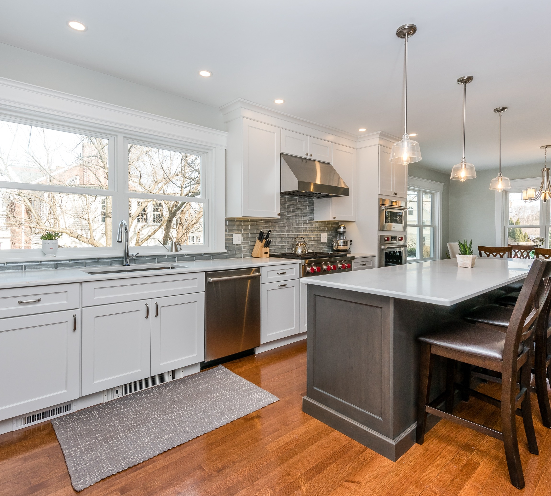 Kitchen Remodel – Grasmere St, Newton, MA