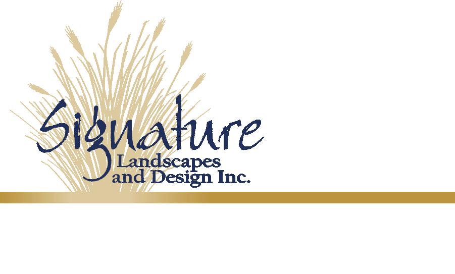 SIGNATURE LANDSCAPES & DESIGN INC logo