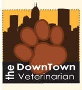 The Downtown Veterinarian logo