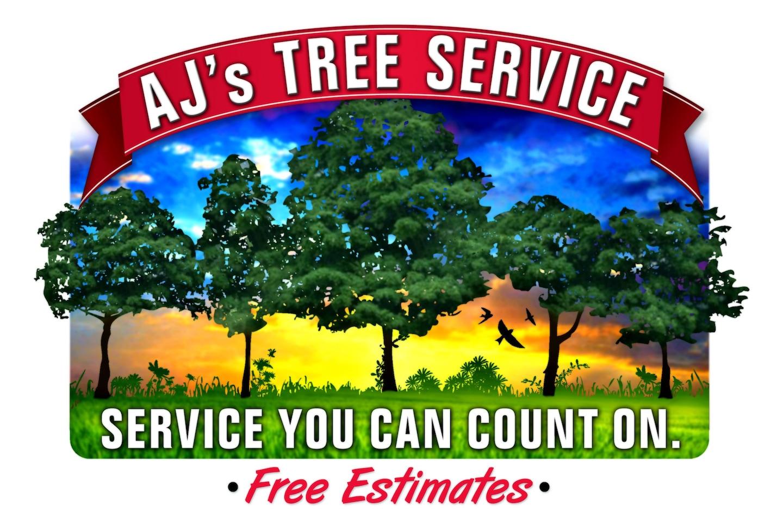 AJ's Tree Service logo