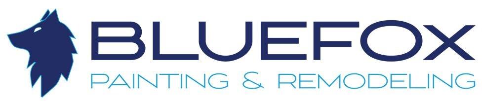 Blue Fox Painting logo