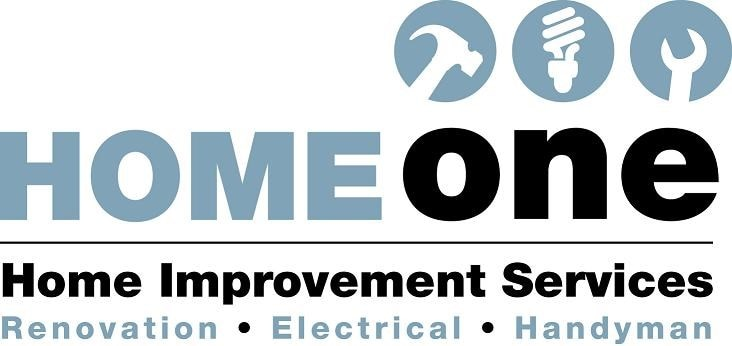 HOME ONE HOME IMPROVEMENTS logo