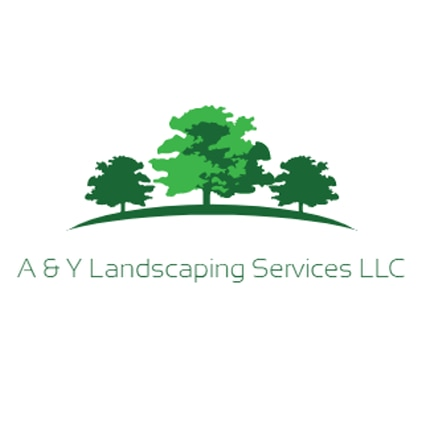 A & Y landscaping services logo