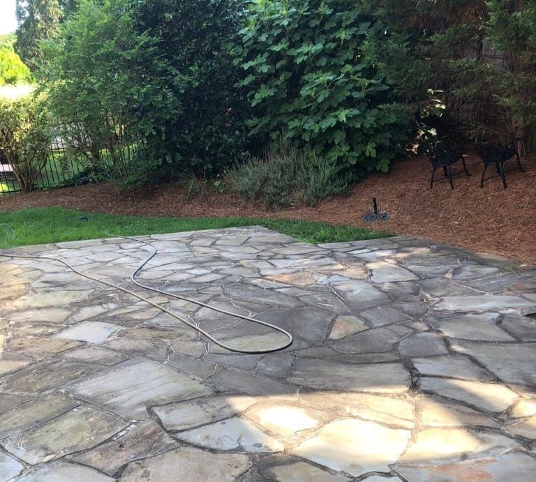 Stone Restoration, Bluestone Patio