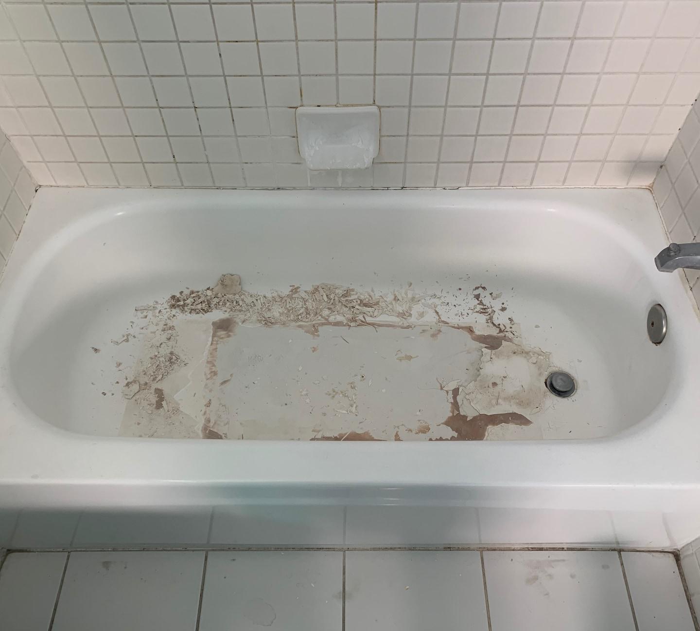 Strip and Refinish a Porcelain Bathtub