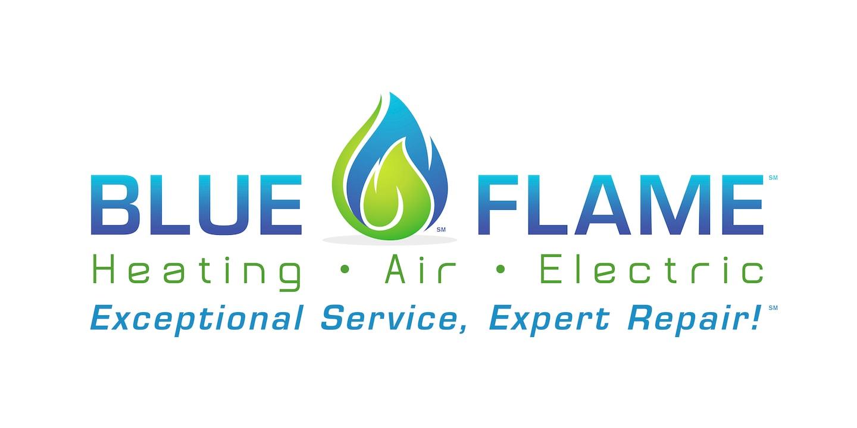 Blue Flame Heating, Air & Electric logo