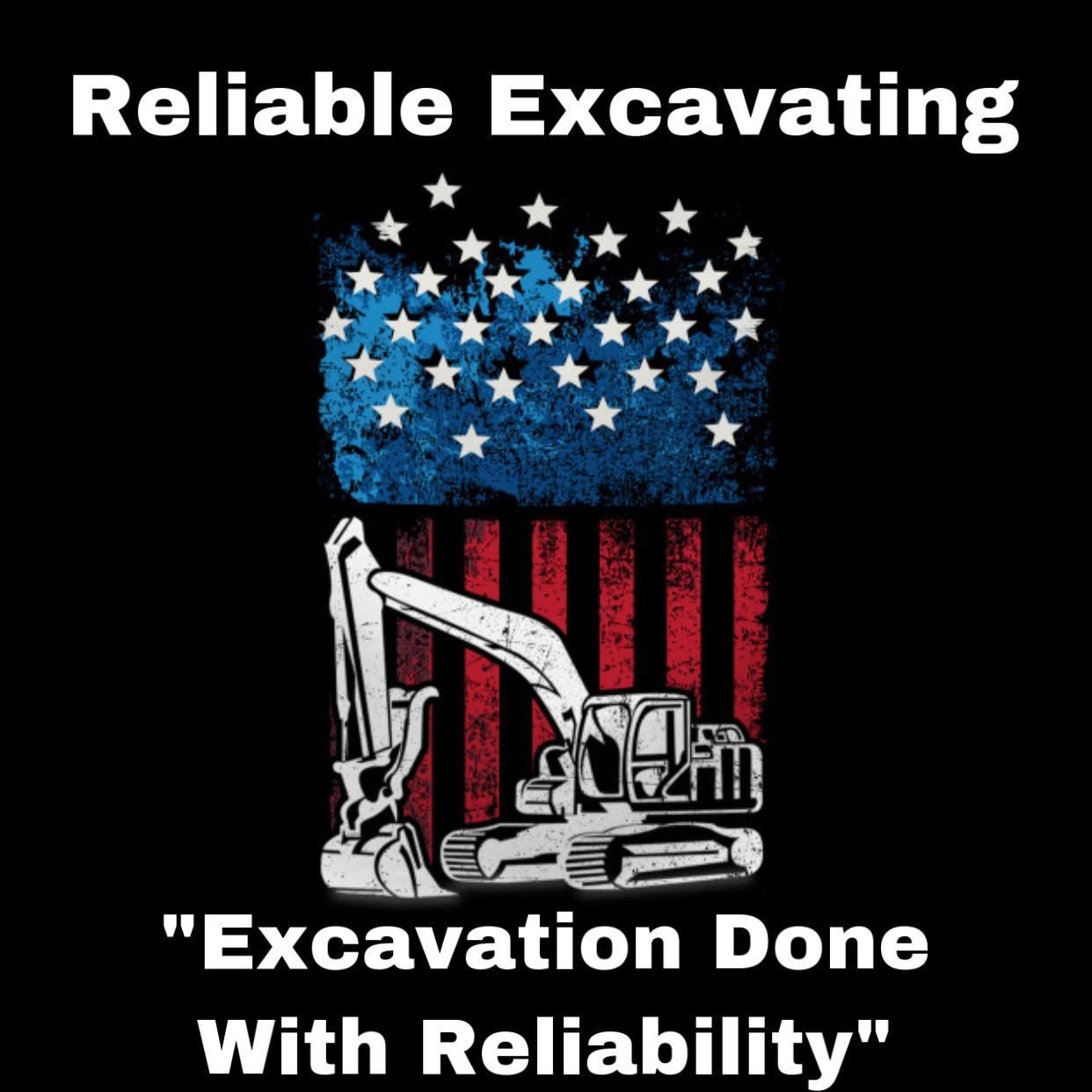 Reliable Excavating logo