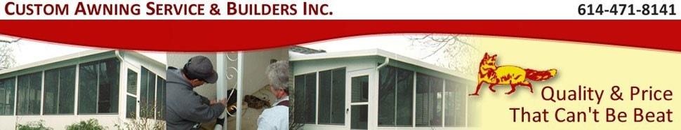 Custom Awning Service & Builders Inc. logo