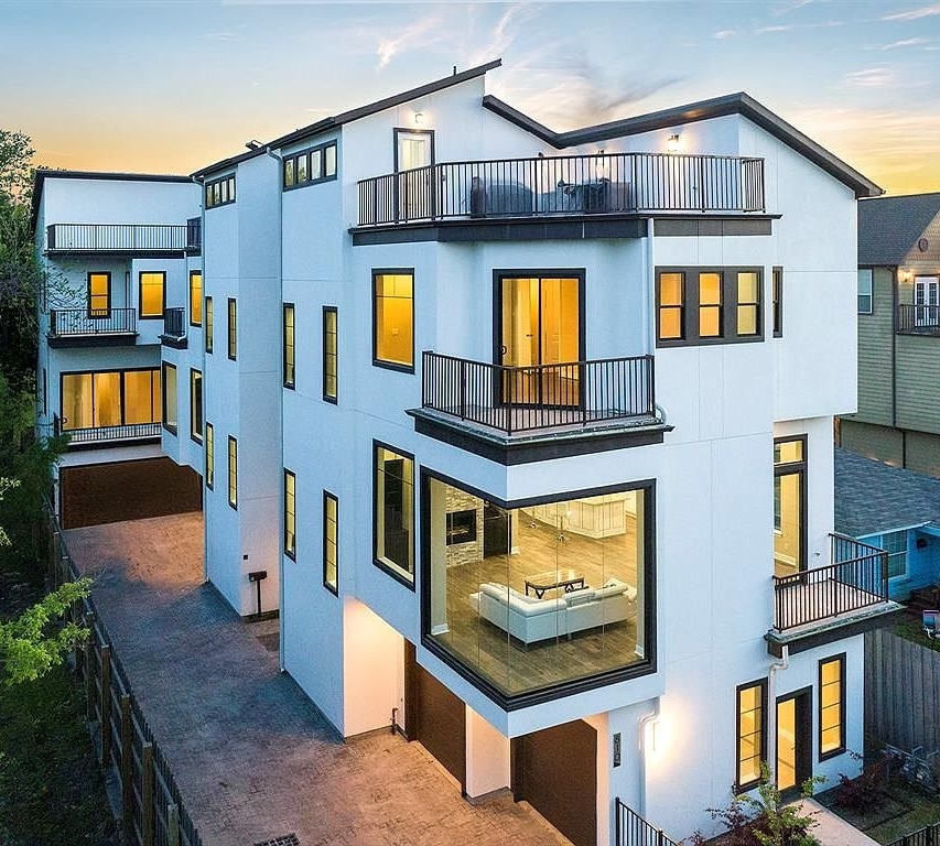 Custom Townhomes in The Heights