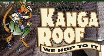 A-1 Roofing's Kanga Roof logo