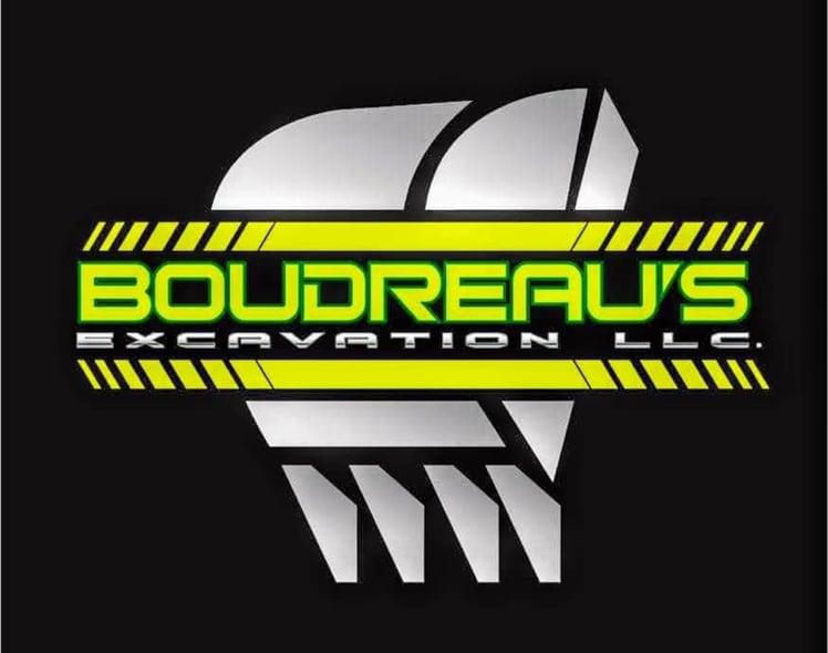 Boudreaus Excavating  logo