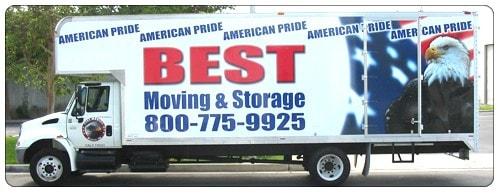Best Moving Service logo