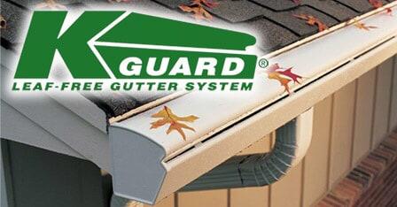 K-Guard Leaf Free Gutter System logo