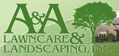 A & A Lawncare & Landscaping logo
