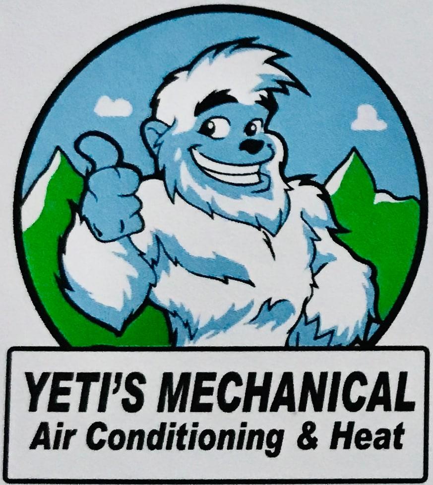 Yeti's Mechanical Air Conditioning & Heat logo