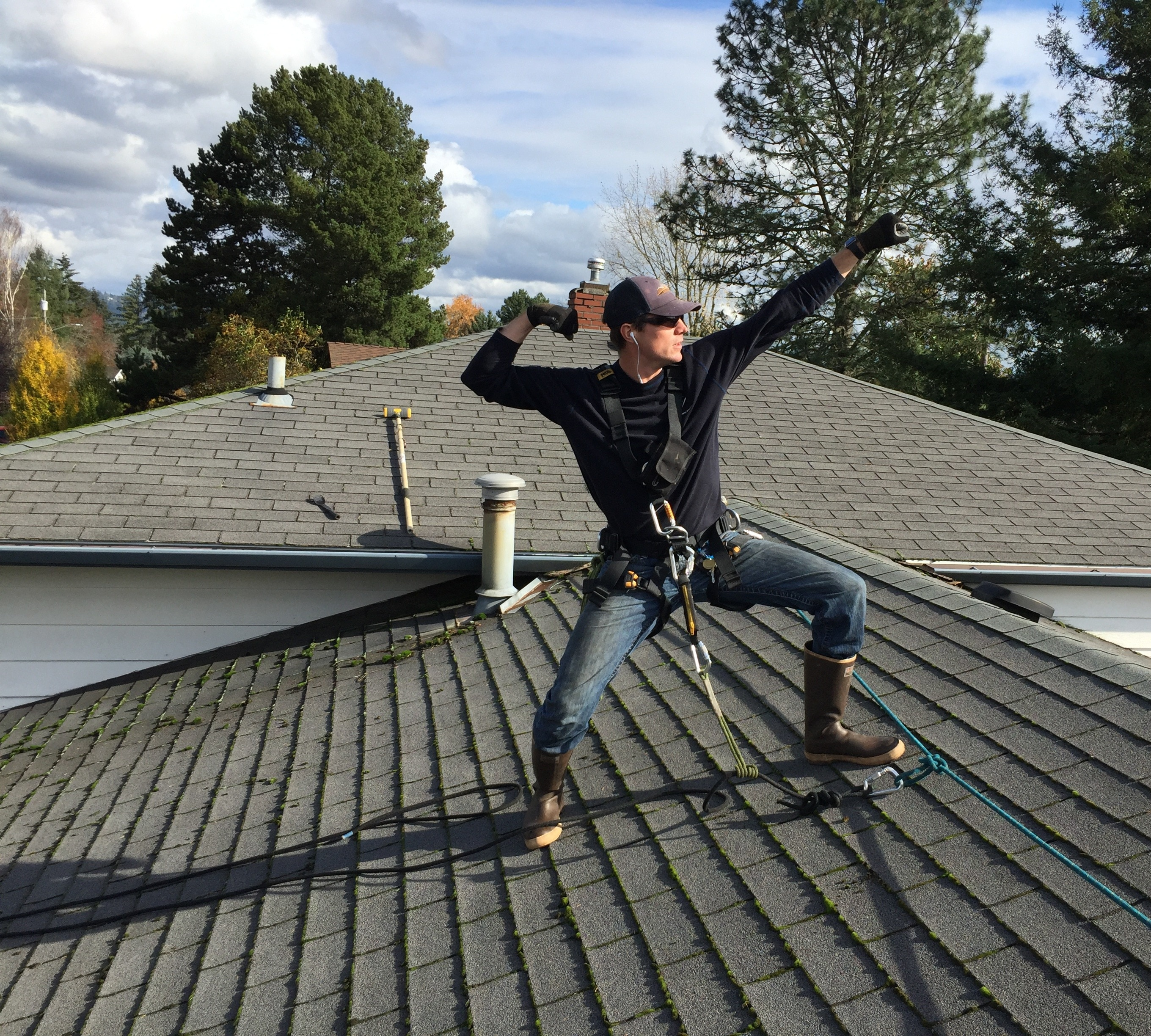 Roof Moss Removal and Treatment
