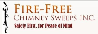 Fire Free Chimney Sweeps logo