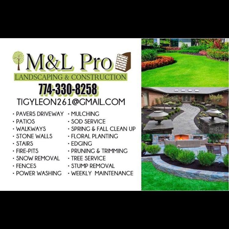M&L Landscaping Construction  logo