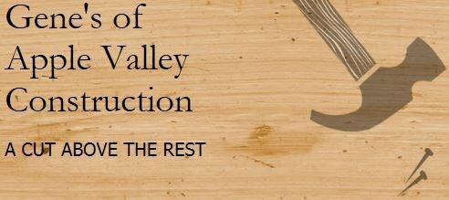 Gene's of Apple Valley Construction logo