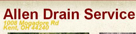 Allen Drain Service Inc logo