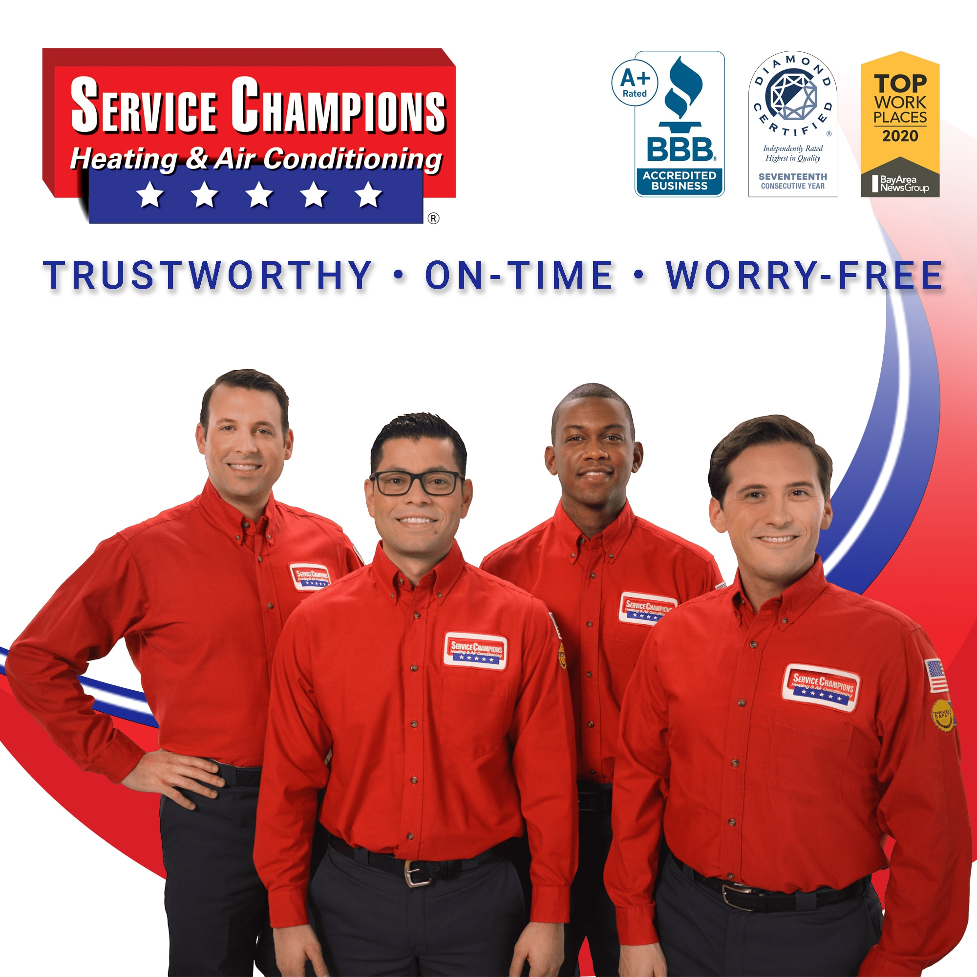 Service Champions Heating & Air Conditioning logo