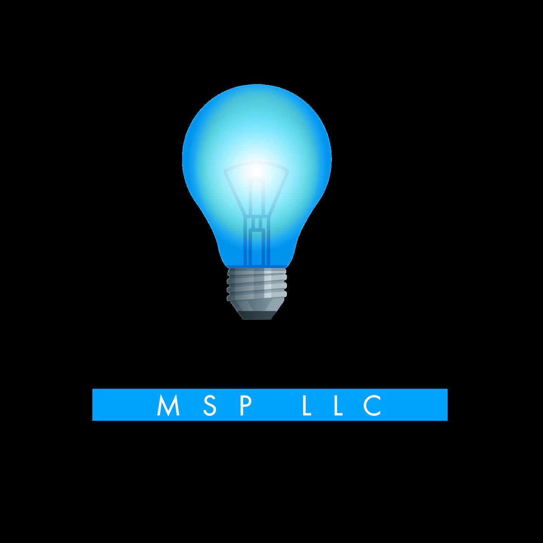Blue Light MSP LLC logo