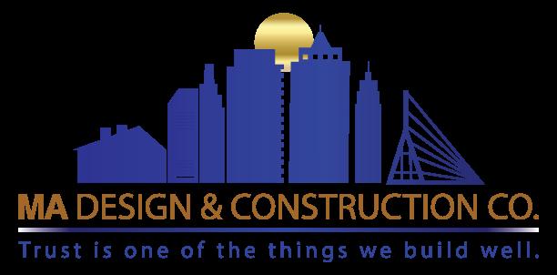 MA Design & Construction Co logo