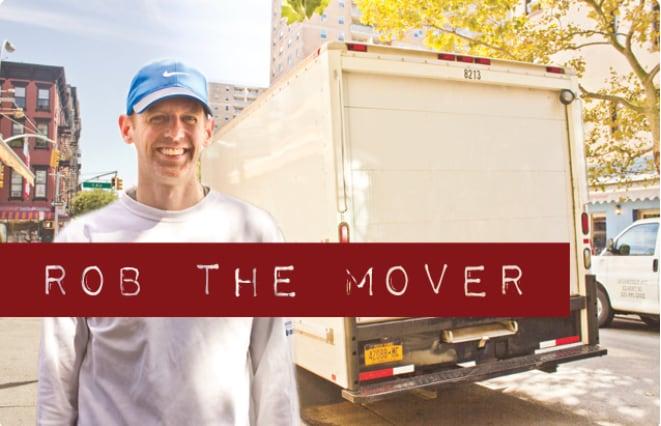 Rob The Mover logo
