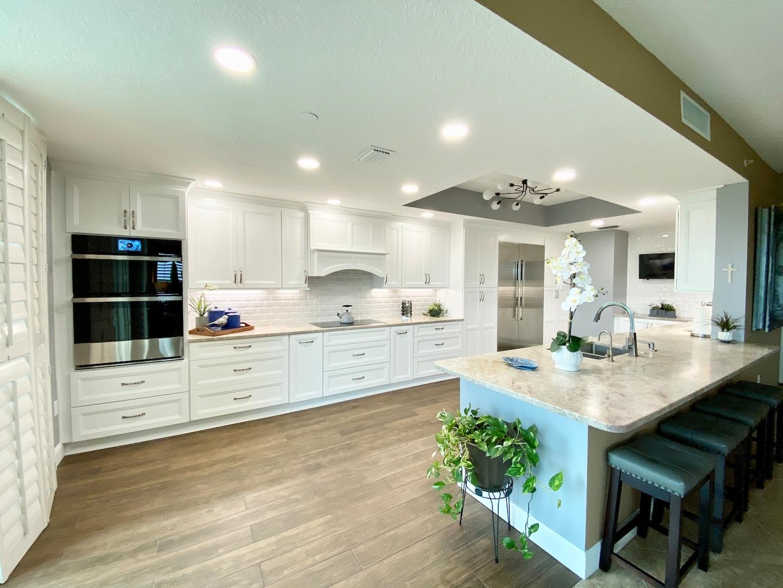 Kitchen, Guest Bath, Living Room Remodel