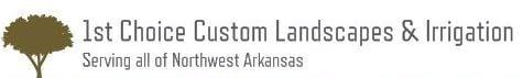 1st Choice Custom Landscapes & Irrigation logo
