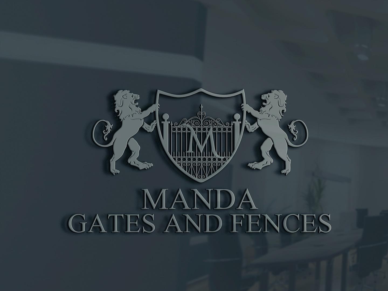 MANDA Gates and Fences logo