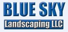 BLUE SKY LANDSCAPING logo