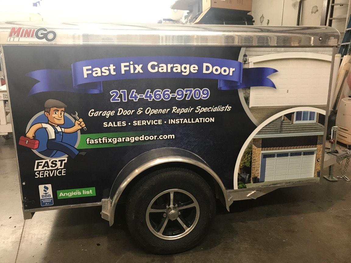 Fast Fix Garage Door logo