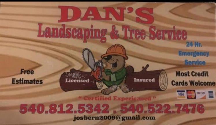 Dan's Tree Service logo