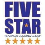 Five Star Heating & Cooling logo