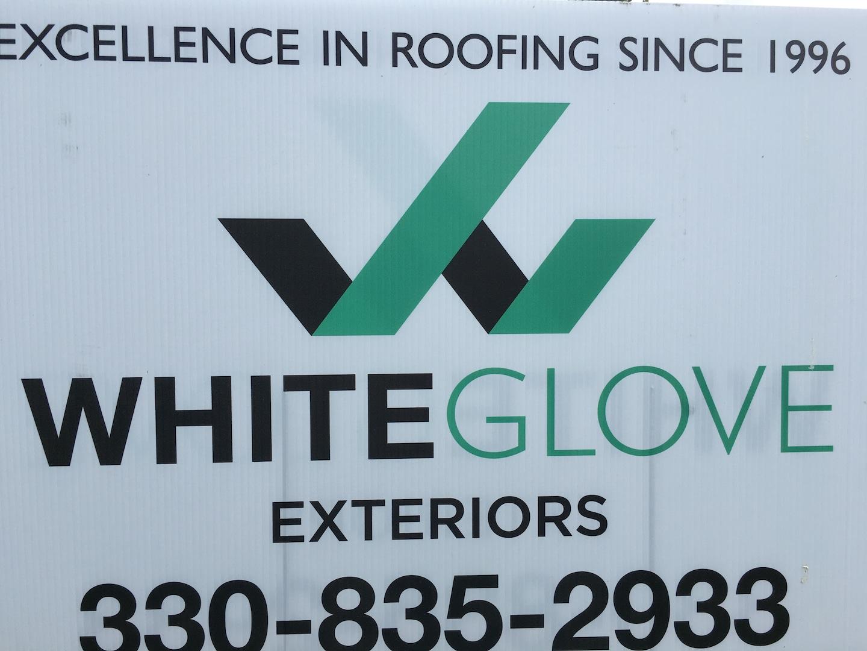 WHITE GLOVE EXTERIORS logo