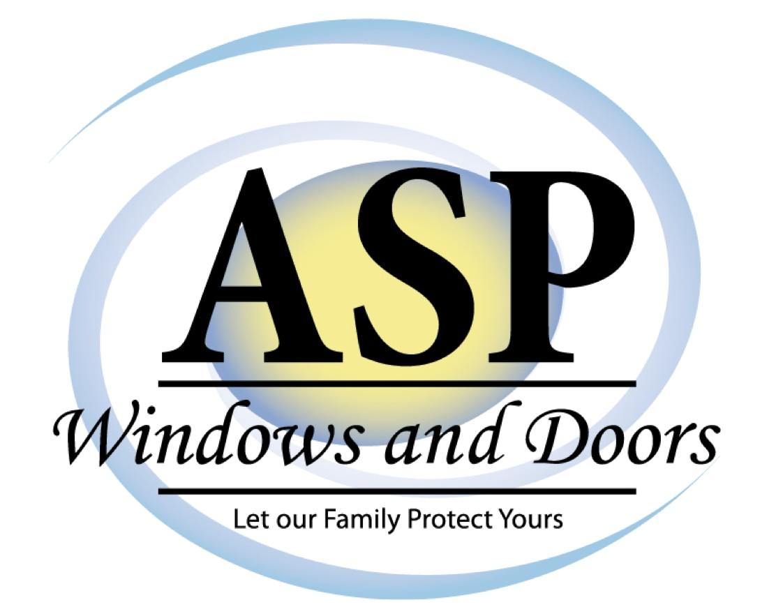 ASP Windows and Doors logo
