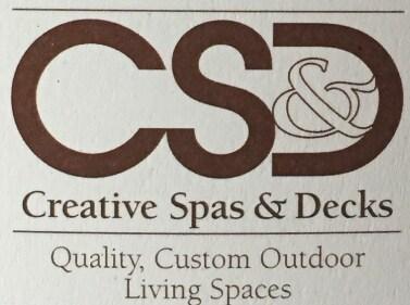 Creative Spas & Decks logo