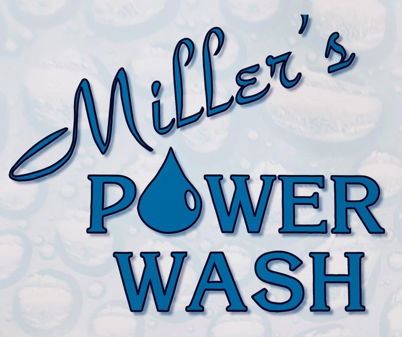 Miller's Power Wash Inc logo