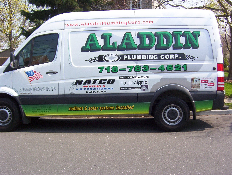 Aladdin Plumbing Corp logo