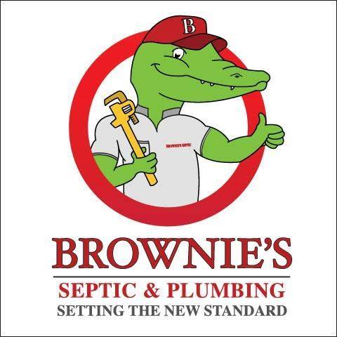 Brownie's Septic and Plumbing logo
