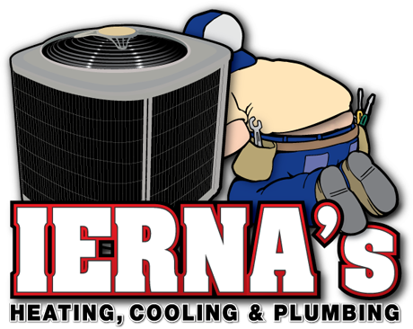 IERNA's Heating & Cooling logo