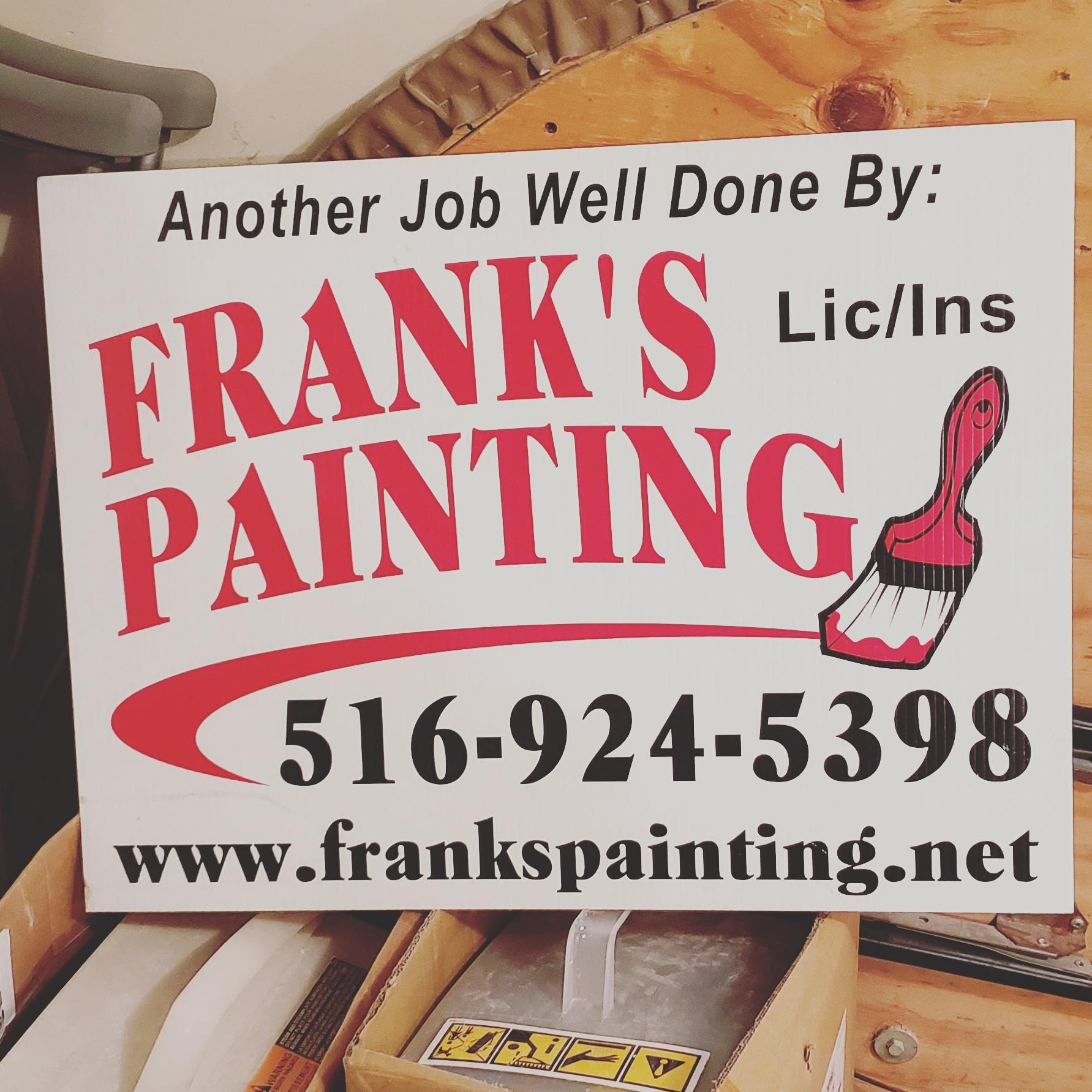 Frank's Painting logo
