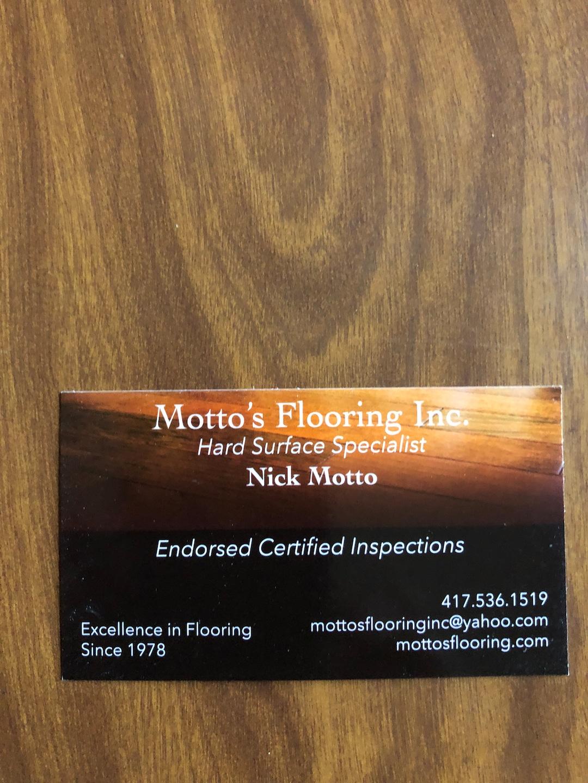 Motto's Flooring logo