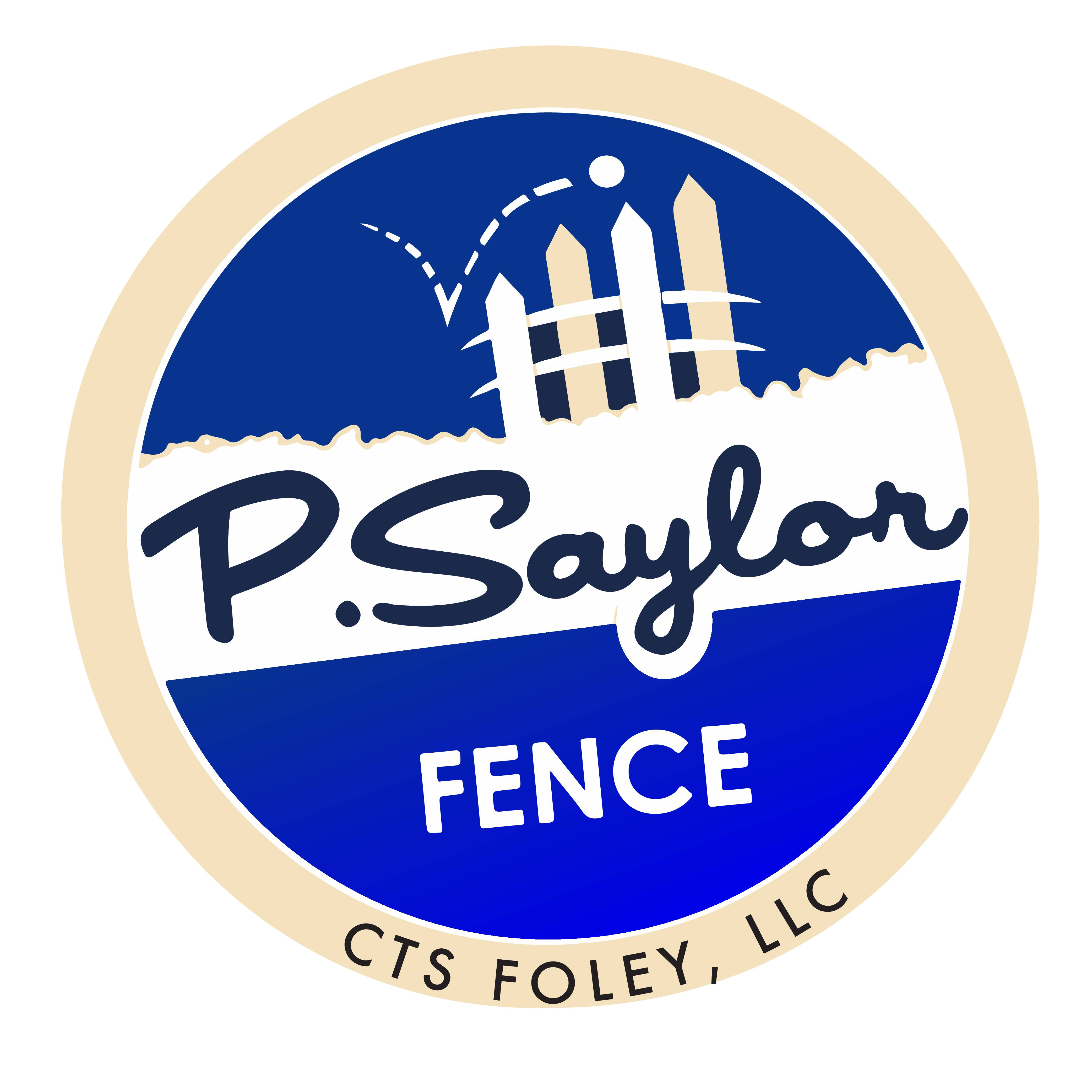 P Saylor Fence Co logo